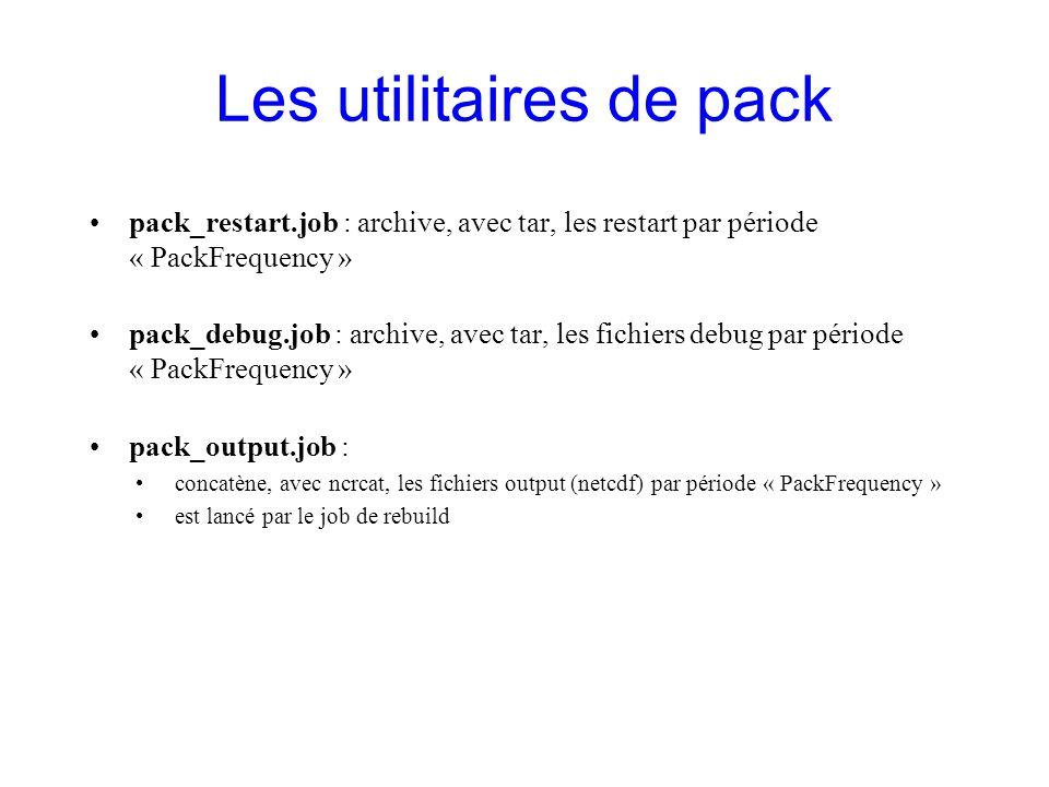 Les utilitaires de pack