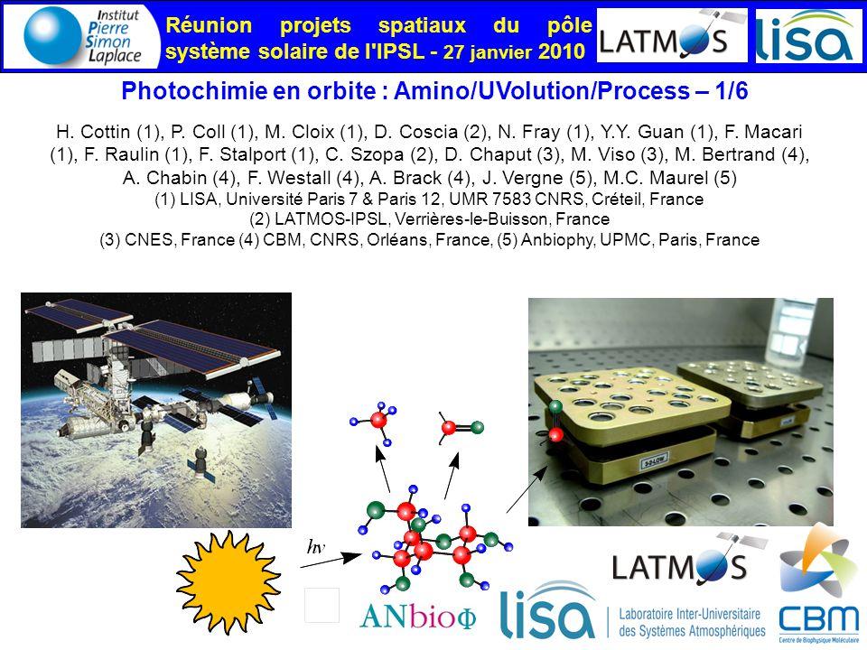 (2) LATMOS-IPSL, Verrières-le-Buisson, France