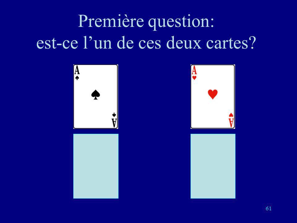 Première question: est-ce l'un de ces deux cartes