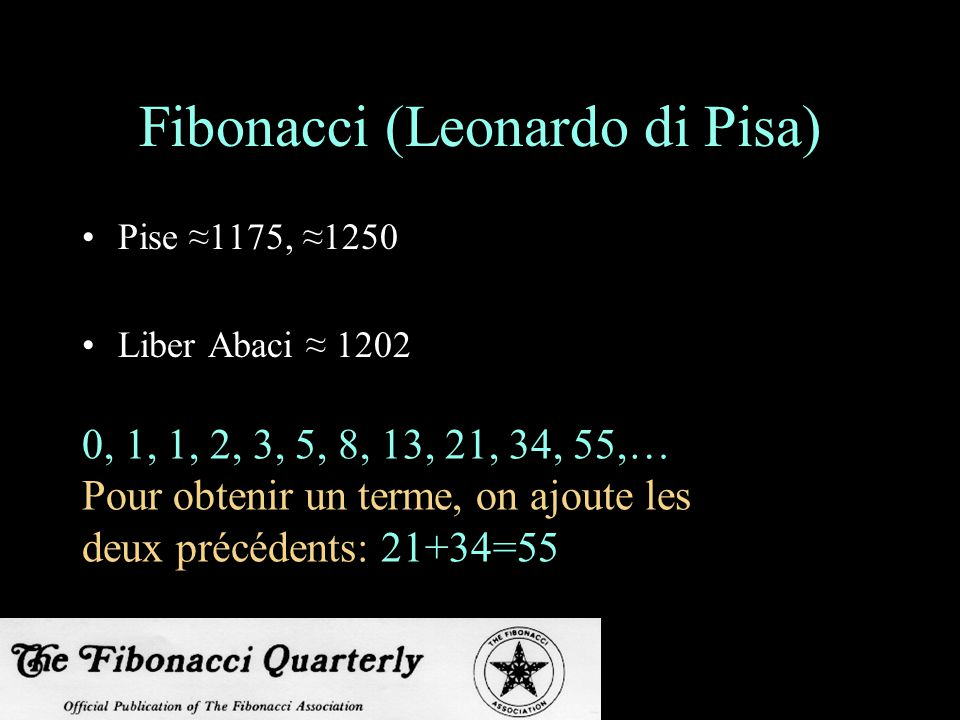 Fibonacci (Leonardo di Pisa)