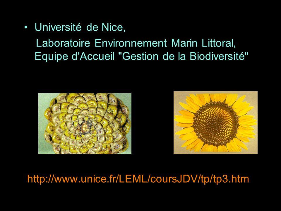 Université de Nice, Laboratoire Environnement Marin Littoral, Equipe d Accueil Gestion de la Biodiversité