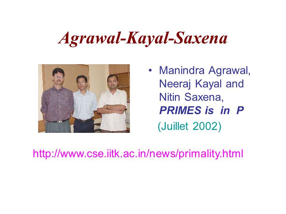 Agrawal-Kayal-Saxena