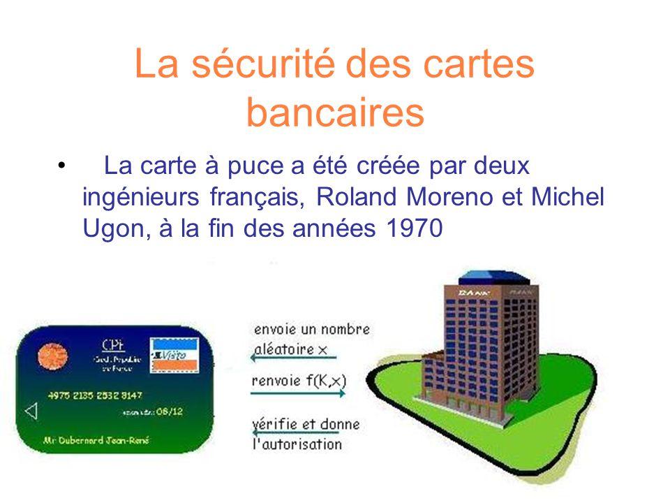 La sécurité des cartes bancaires