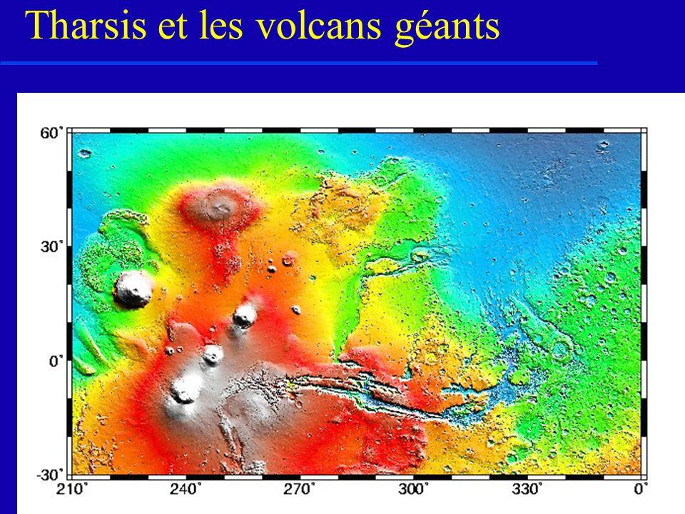 Tharsis et les volcans géants