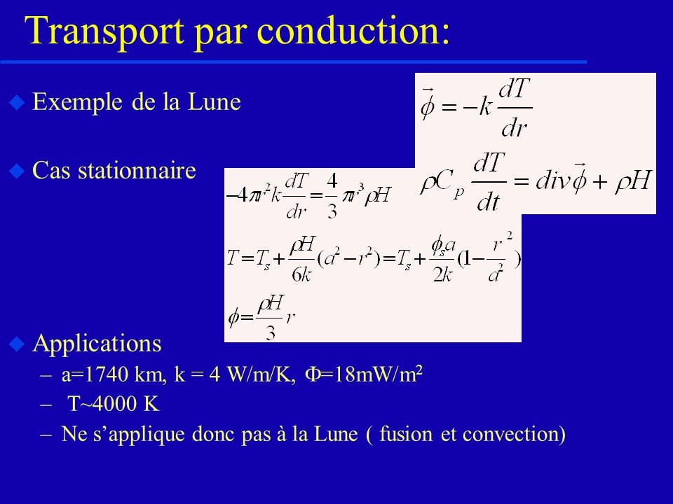 Transport par conduction: