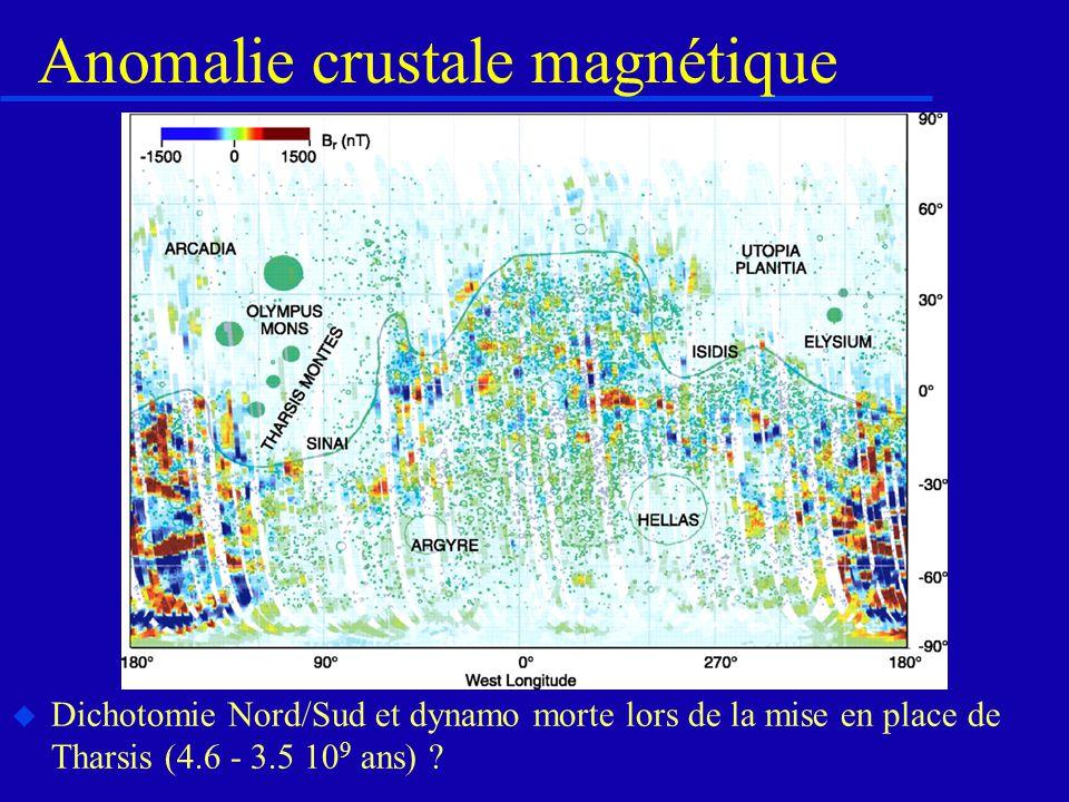 Anomalie crustale magnétique