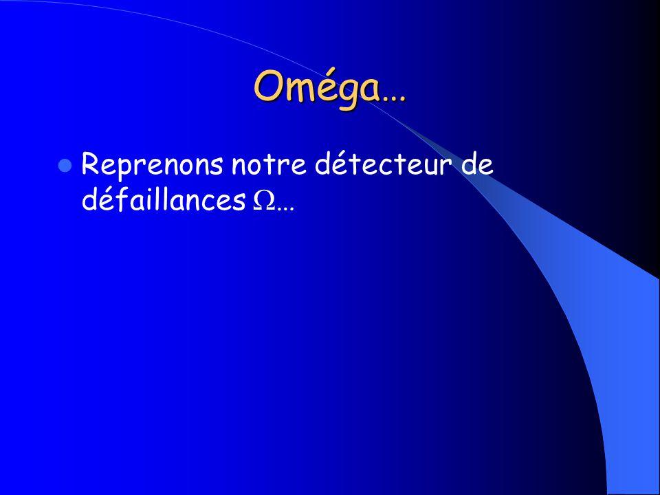 Oméga… Reprenons notre détecteur de défaillances W…