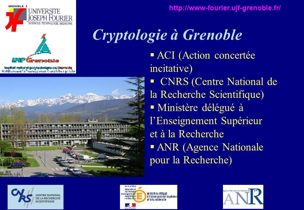 Cryptologie à Grenoble