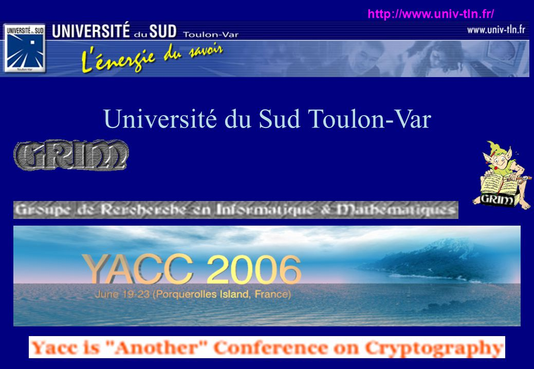 Université du Sud Toulon-Var