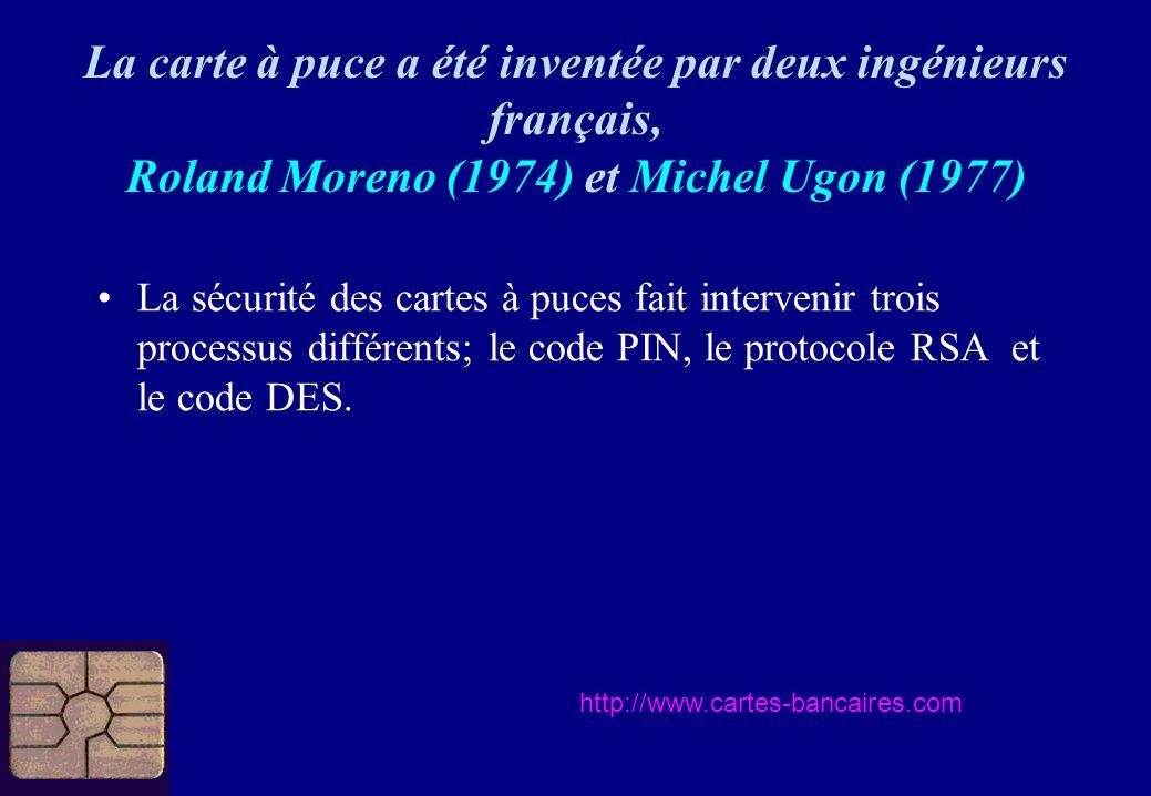 La carte à puce a été inventée par deux ingénieurs français,