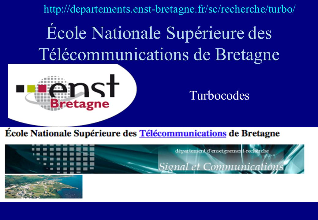 École Nationale Supérieure des Télécommunications de Bretagne