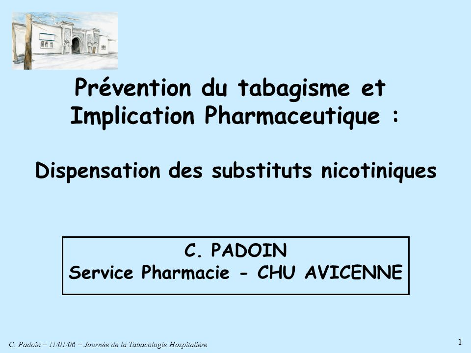 Prévention du tabagisme et Implication Pharmaceutique :