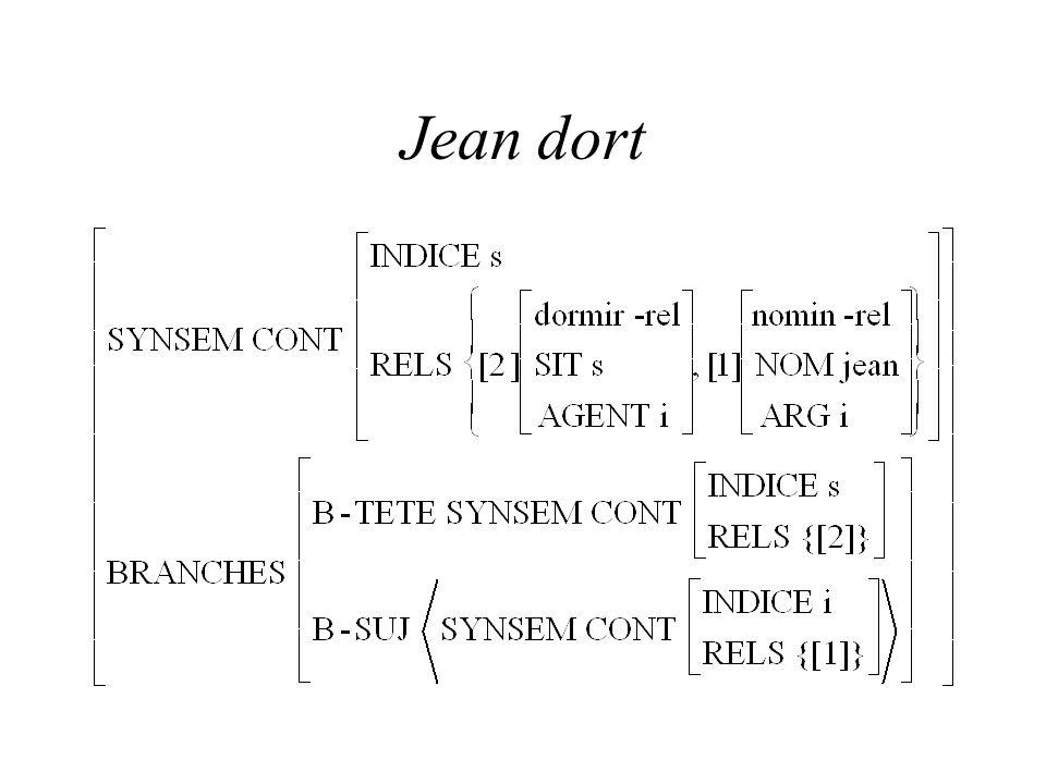 Jean dort