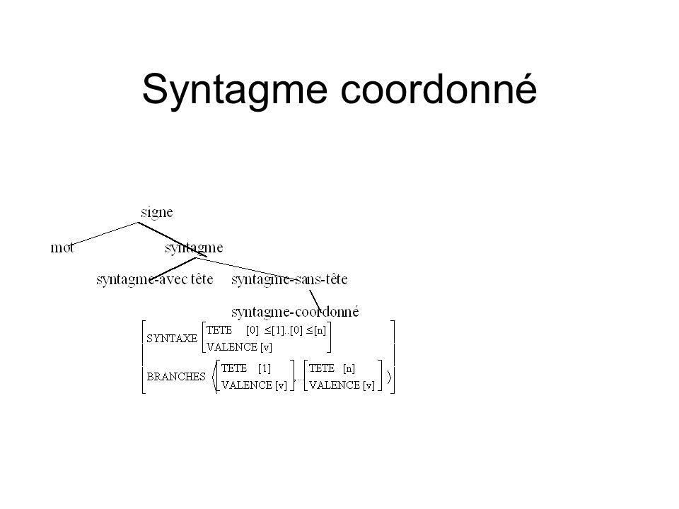 Syntagme coordonné