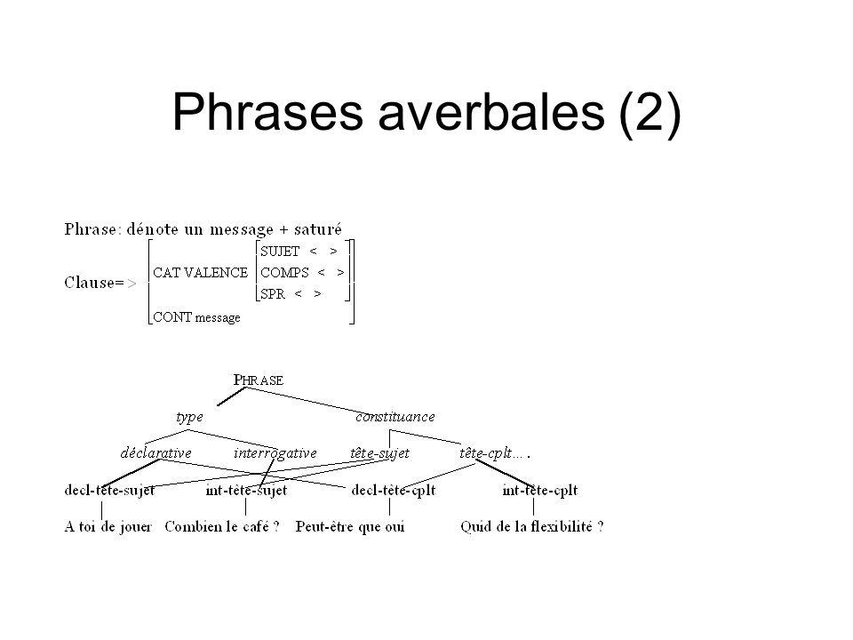Phrases averbales (2)