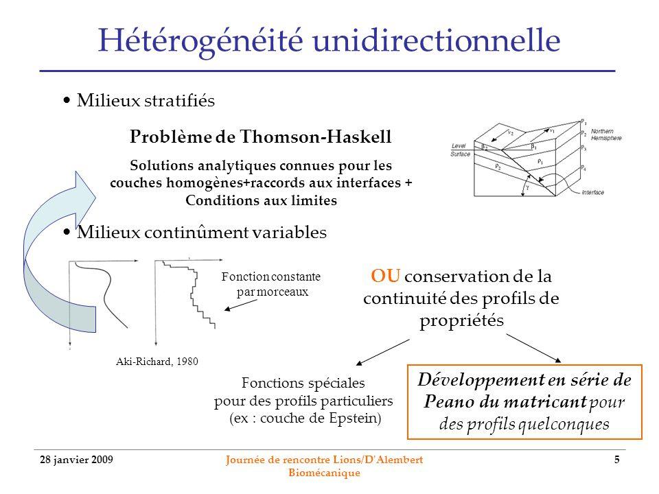 Hétérogénéité unidirectionnelle