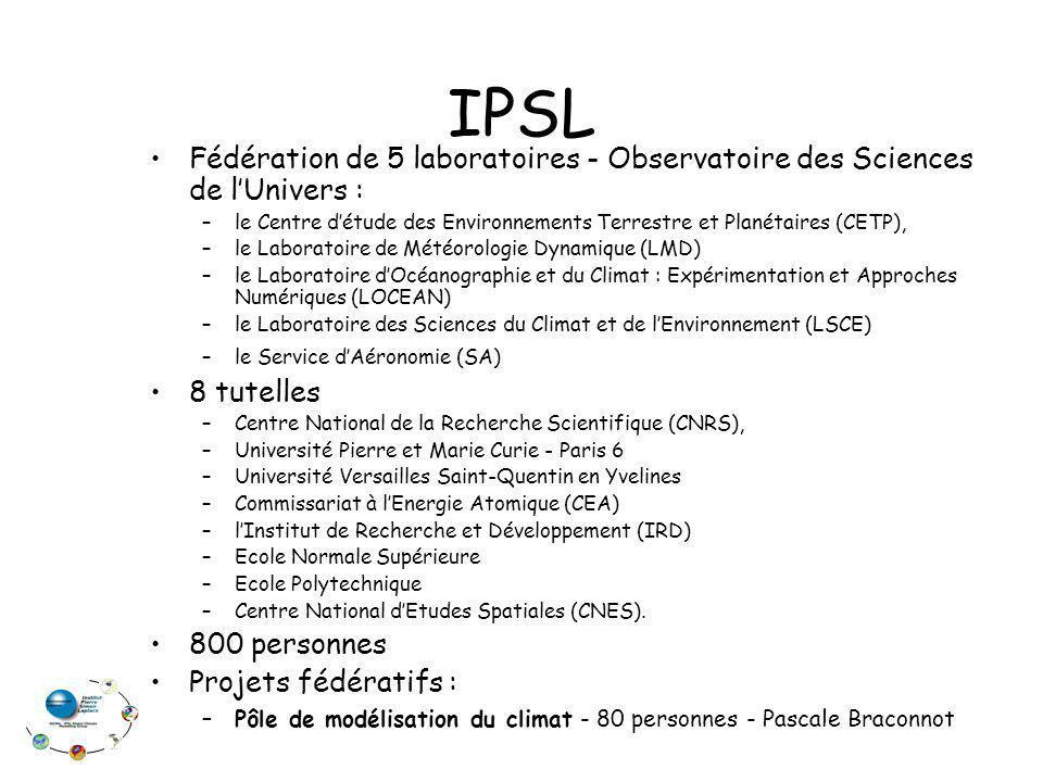 IPSL Fédération de 5 laboratoires - Observatoire des Sciences de l'Univers : le Centre d'étude des Environnements Terrestre et Planétaires (CETP),