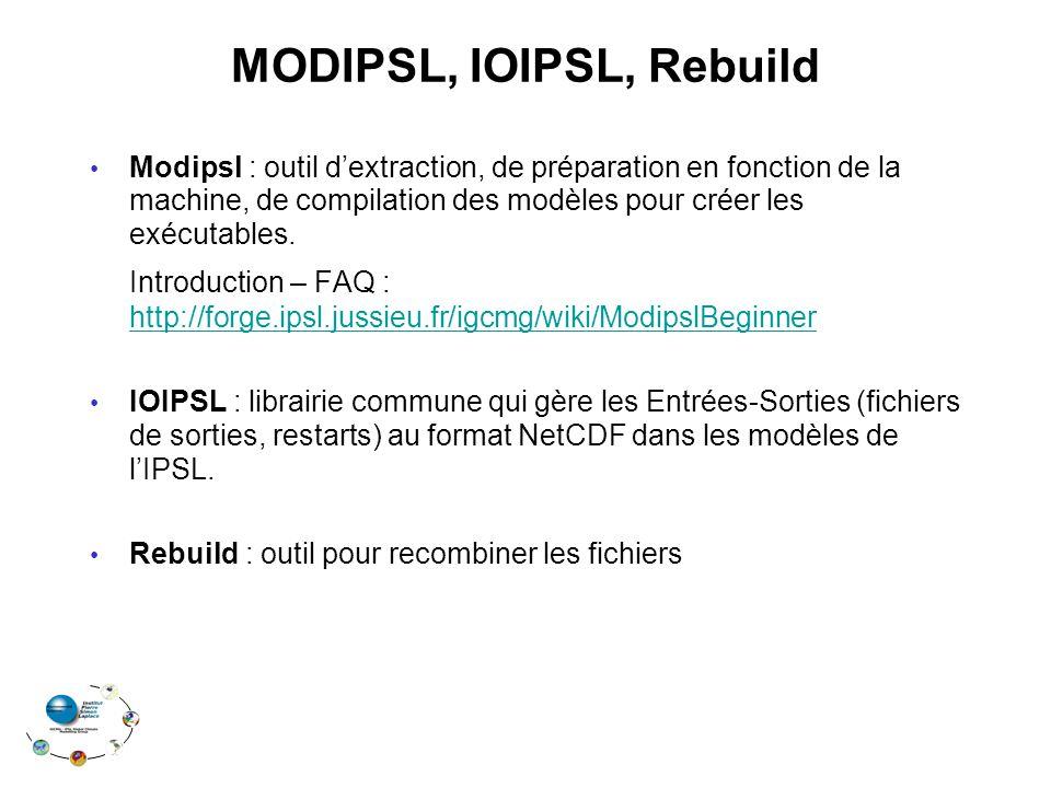 MODIPSL, IOIPSL, Rebuild