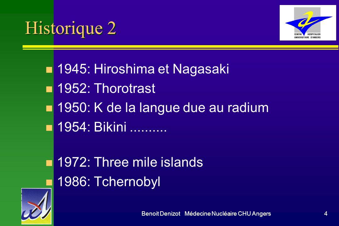 Benoit Denizot Médecine Nucléaire CHU Angers