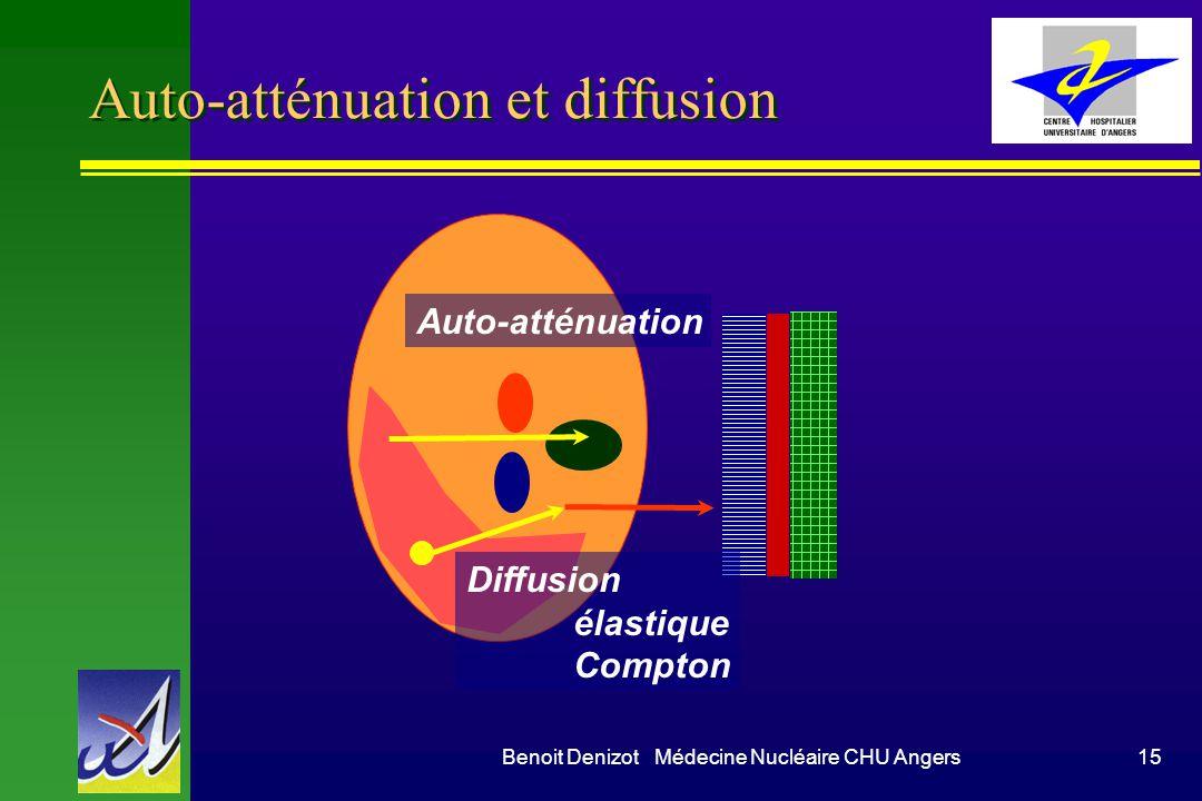 Auto-atténuation et diffusion