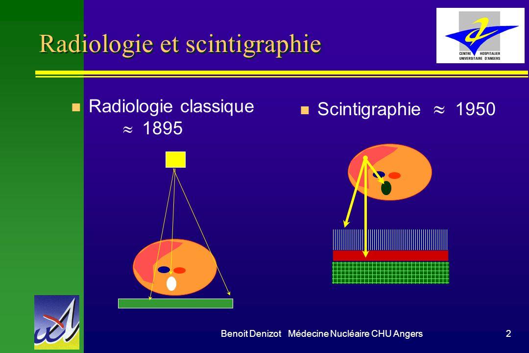 Radiologie et scintigraphie