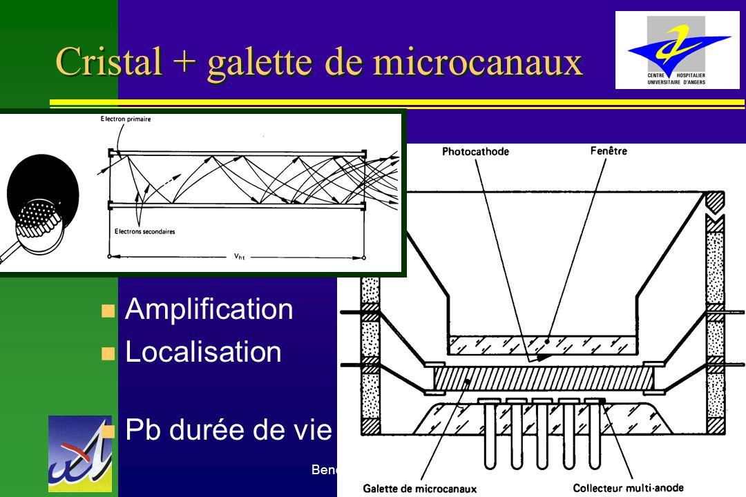 Cristal + galette de microcanaux