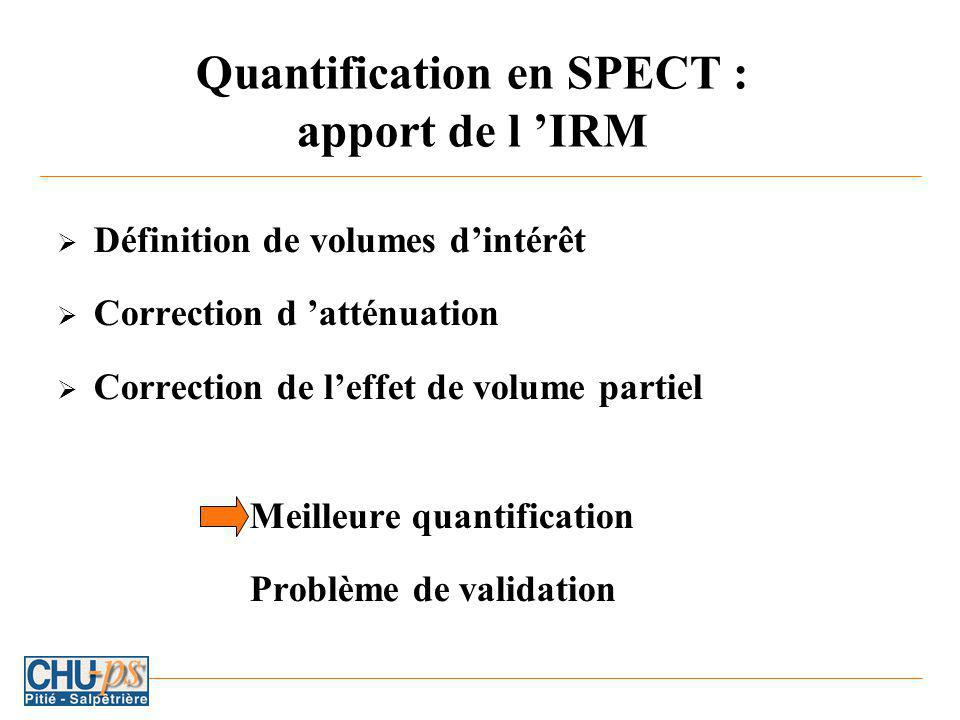 Quantification en SPECT : apport de l 'IRM