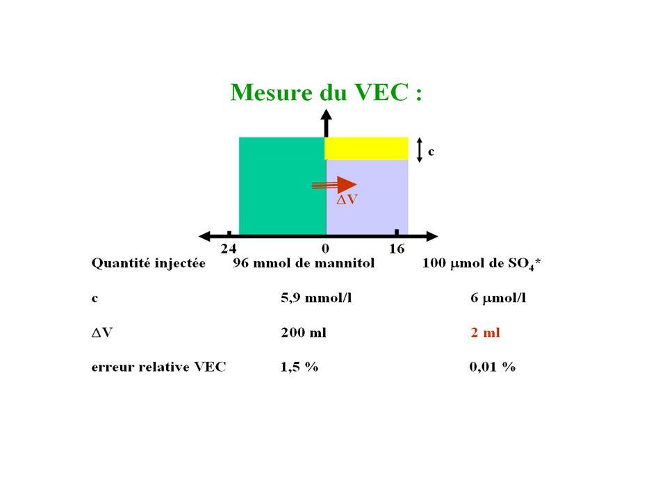Mesure du VEC 2