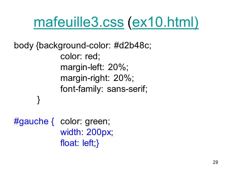 mafeuille3.css (ex10.html)
