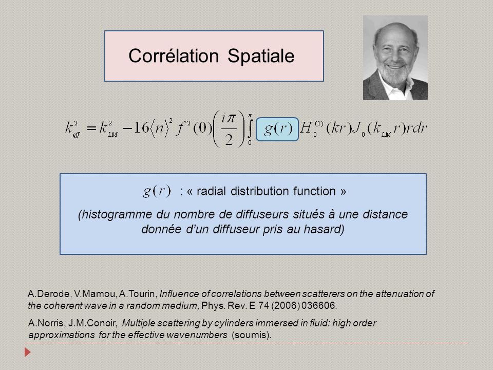 : « radial distribution function »
