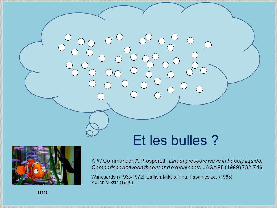 Et les bulles