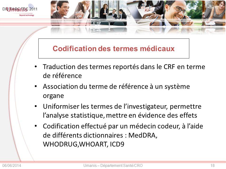 Codification des termes médicaux