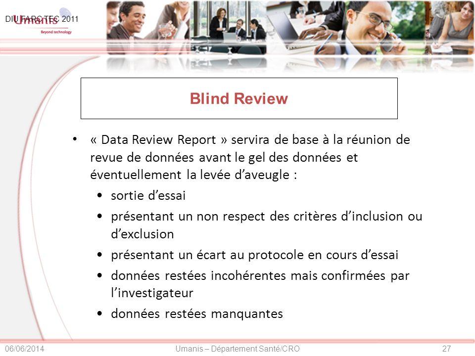 DIU FARC TEC 2011 01/04/2017. Blind Review.