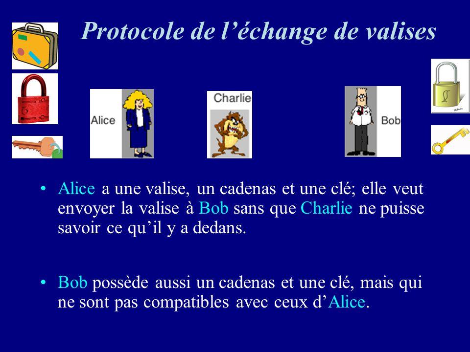 Protocole de l'échange de valises