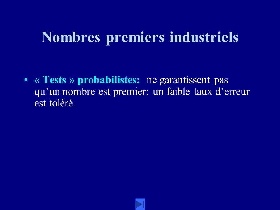 Nombres premiers industriels