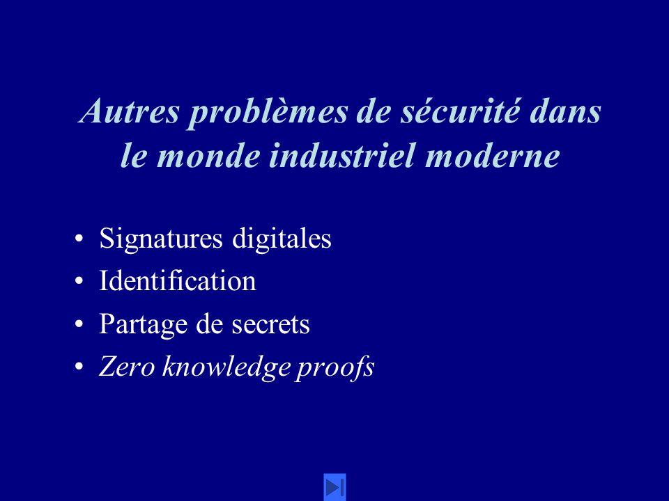 Autres problèmes de sécurité dans le monde industriel moderne