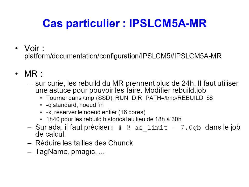 Cas particulier : IPSLCM5A-MR