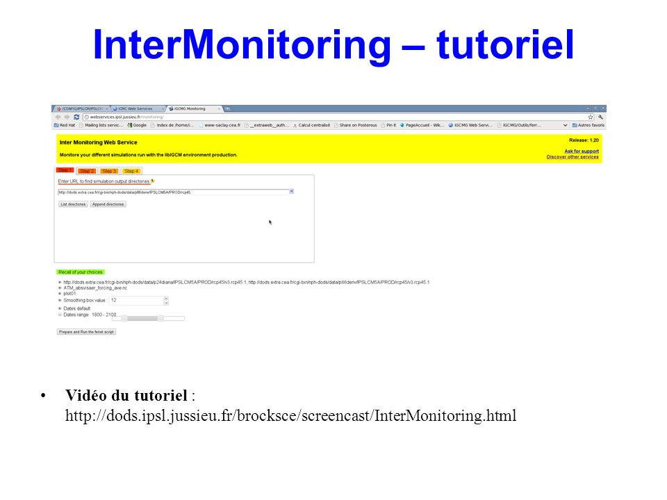 InterMonitoring – tutoriel