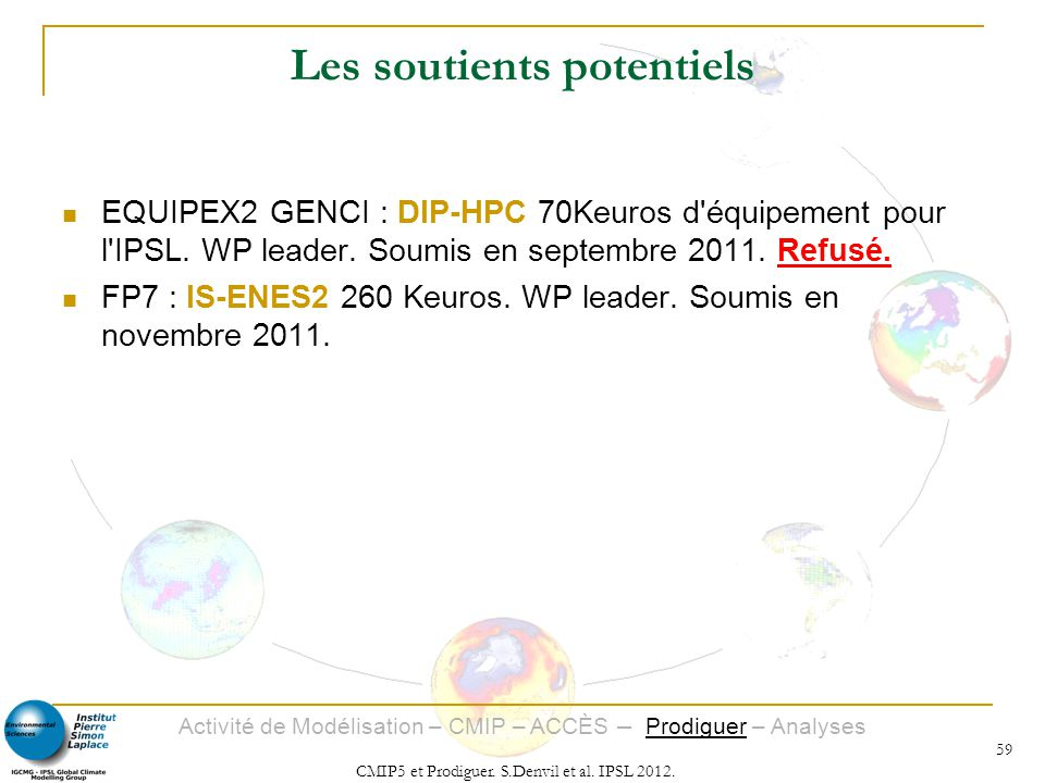 Les soutients potentiels