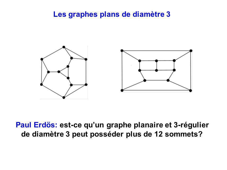 Les graphes plans de diamètre 3