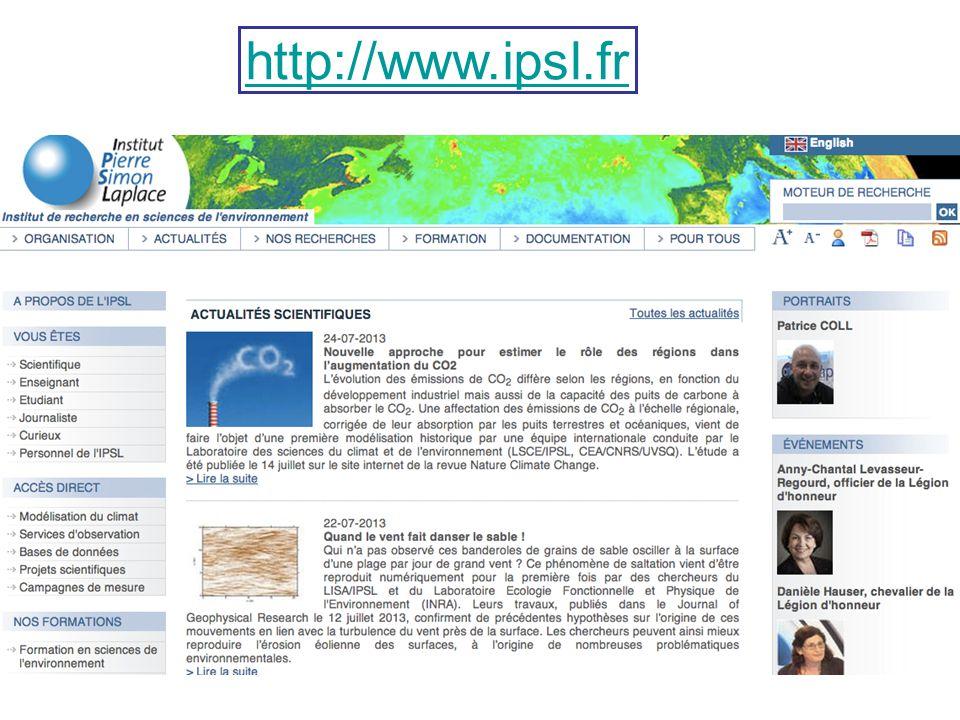 http://www.ipsl.fr