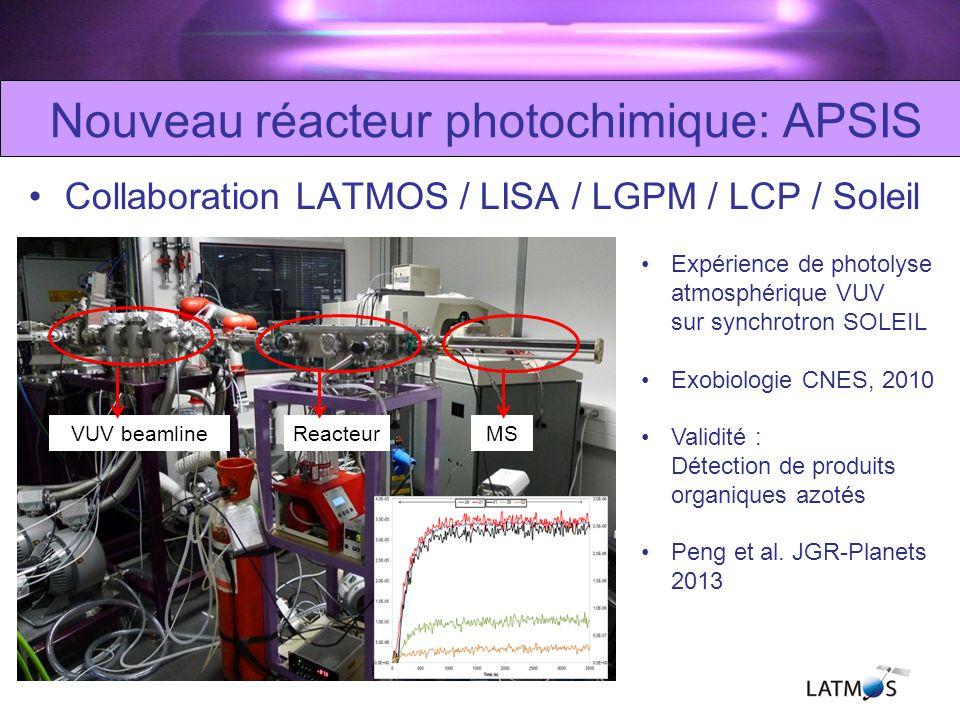 Nouveau réacteur photochimique: APSIS