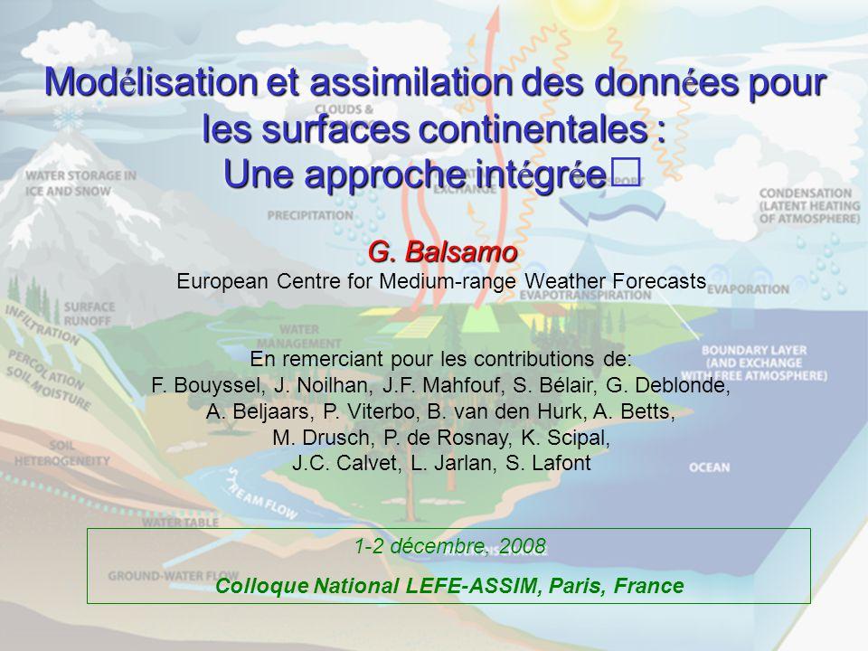 Colloque National LEFE-ASSIM, Paris, France