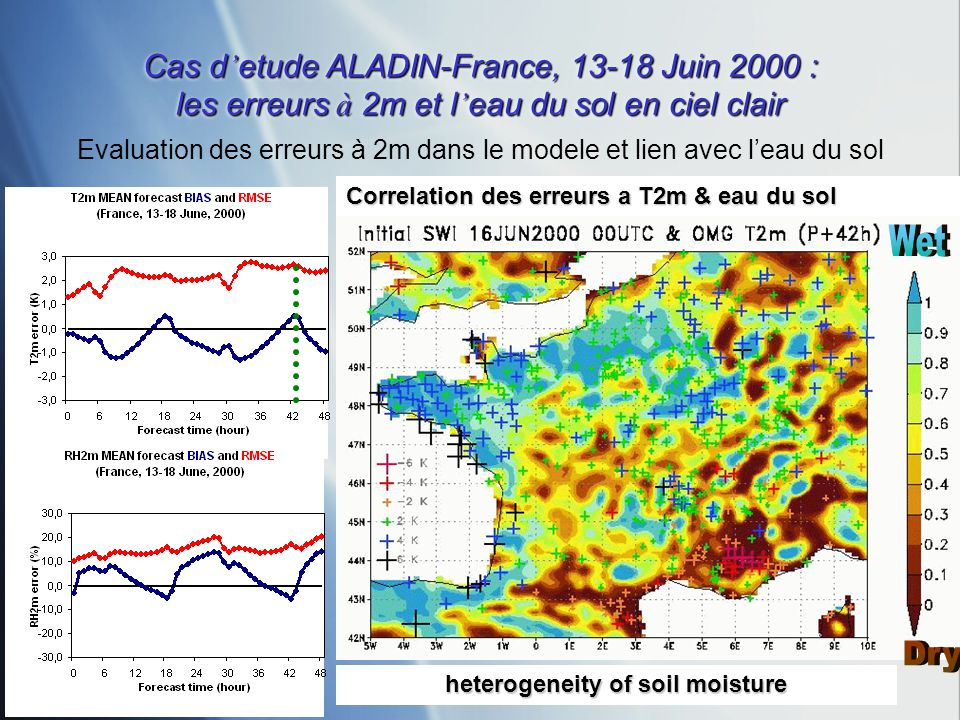 heterogeneity of soil moisture