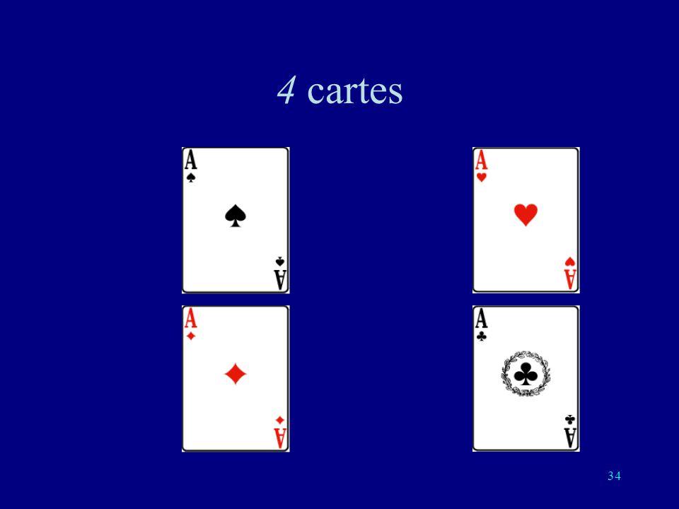 4 cartes