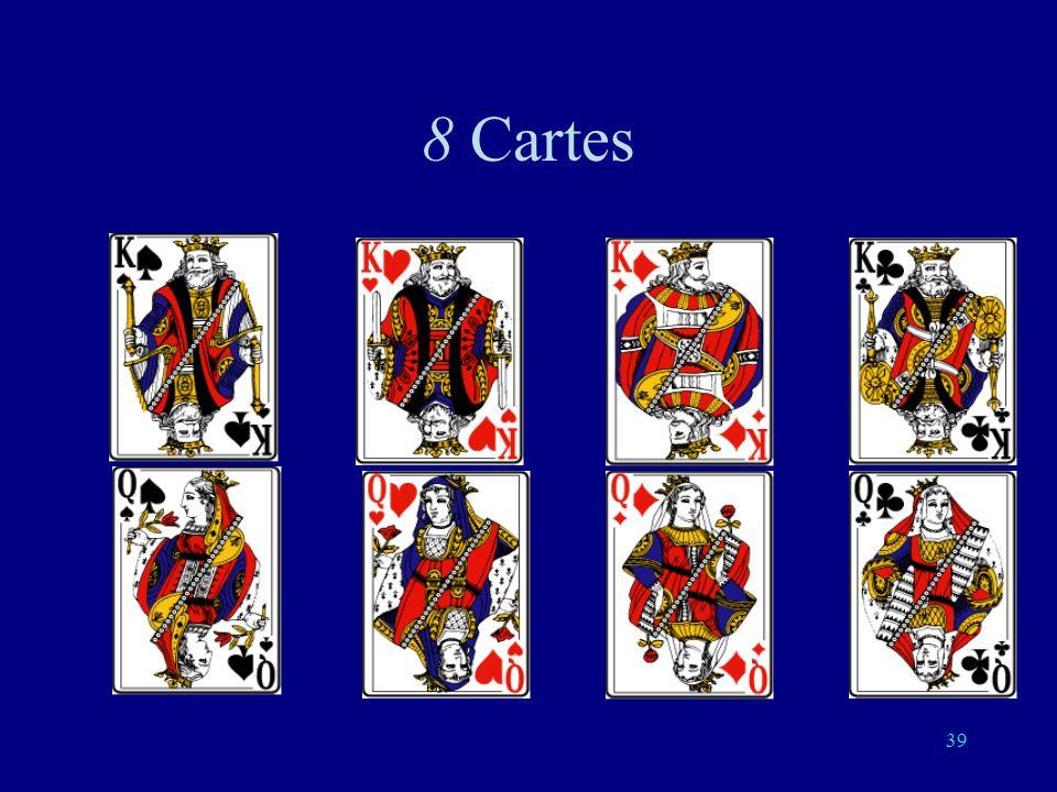 8 Cartes