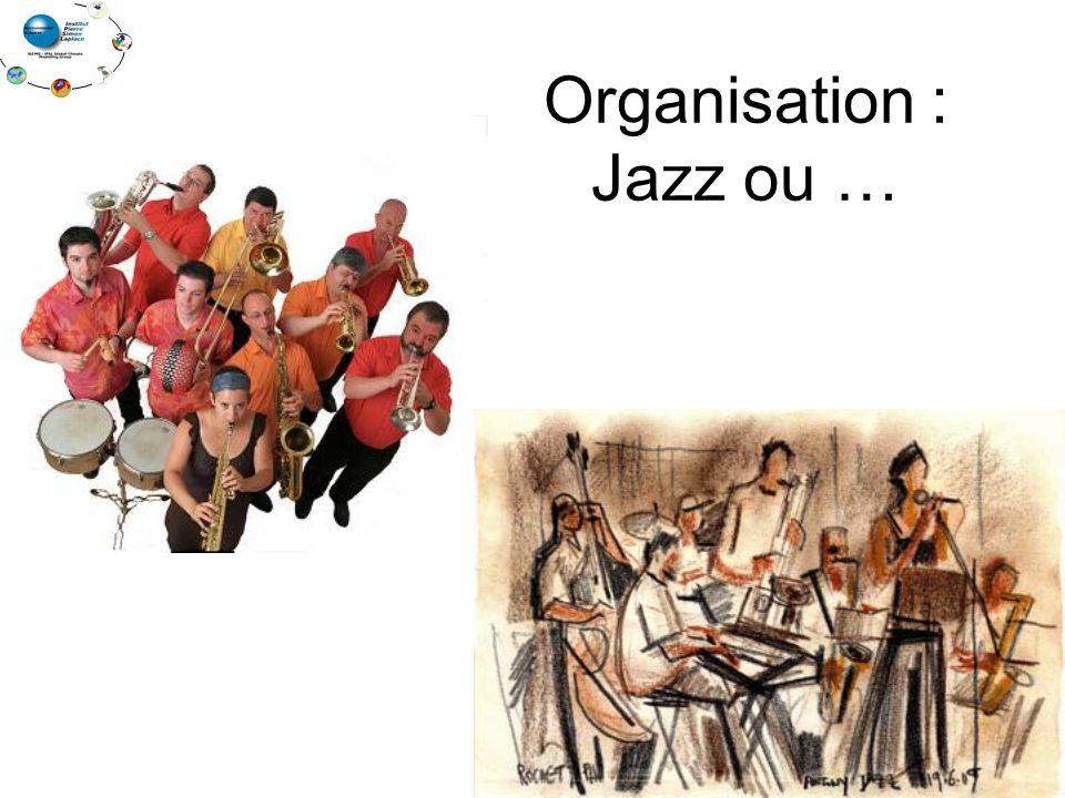 Organisation : Jazz ou …