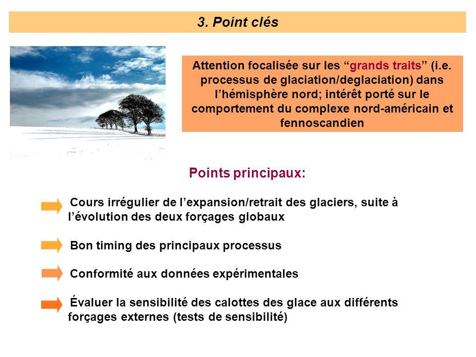 3. Point clés Points principaux:
