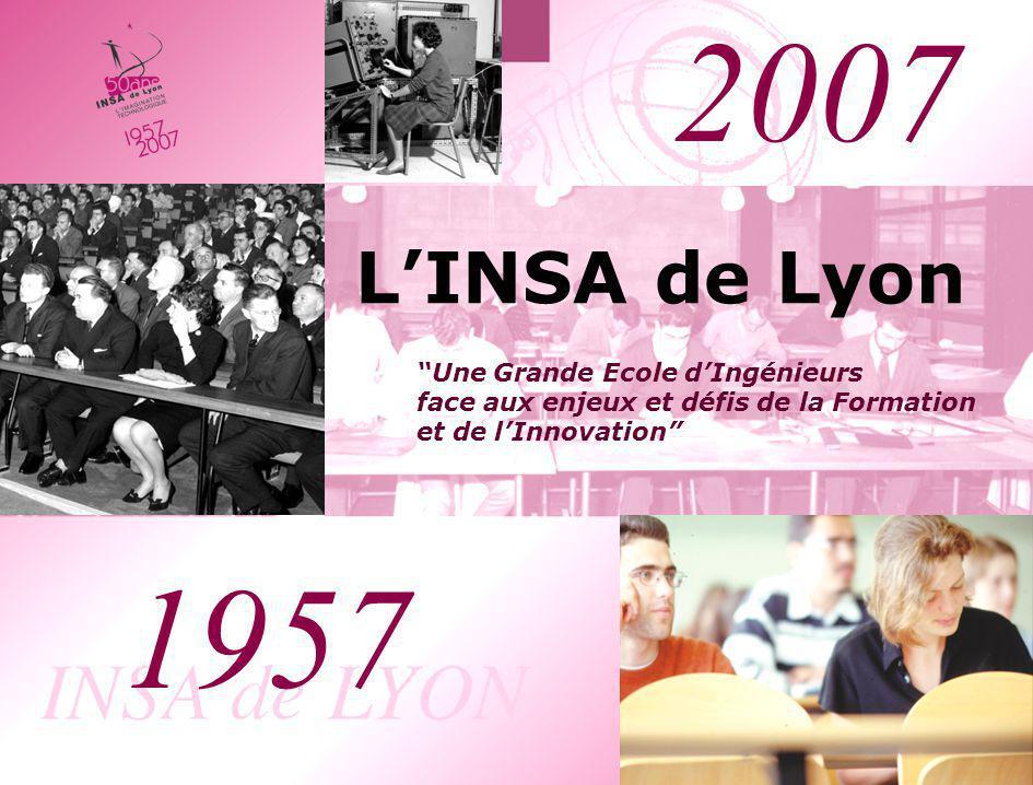 2007 L'INSA de Lyon. Une Grande Ecole d'Ingénieurs face aux enjeux et défis de la Formation et de l'Innovation