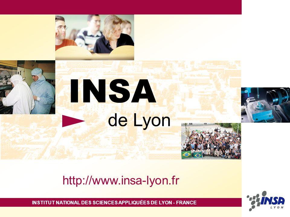 INSA de Lyon http://www.insa-lyon.fr